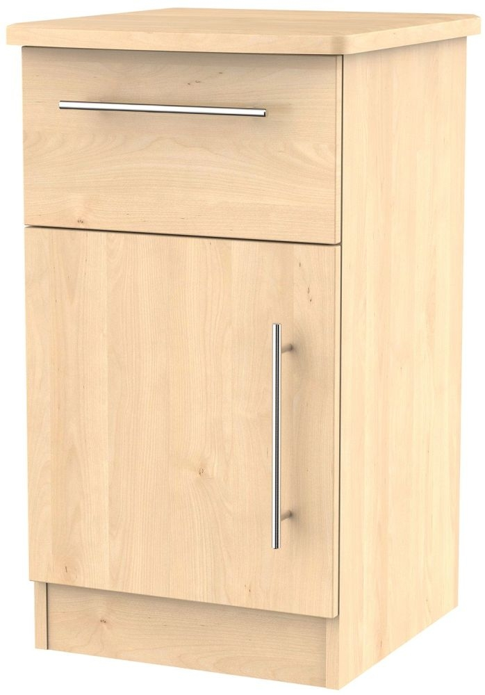Sherwood Maple 1 Door 1 Drawer Cabinet