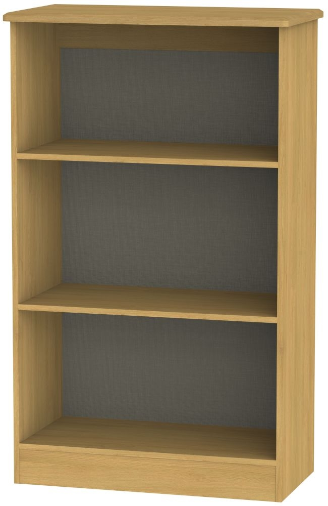 Sherwood Modern Oak Bookcase