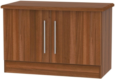 Sherwood Noche Walnut 2 Door Low Unit