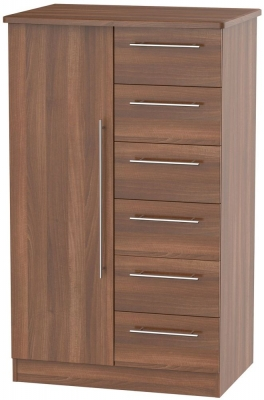 Buy Sherwood Noche Walnut Children Wardrobe Online CFS UK