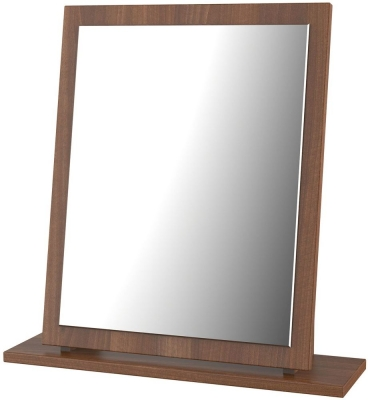 Sherwood Noche Walnut Small Mirror