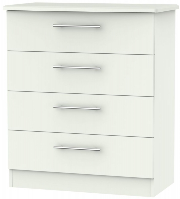 Sherwood Porcelain Matt 4 Drawer Chest