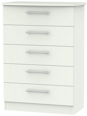 Sherwood Porcelain Matt 5 Drawer Chest