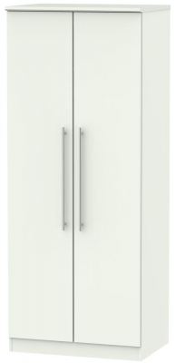 Sherwood Porcelain Matt 2 Door Wardrobe