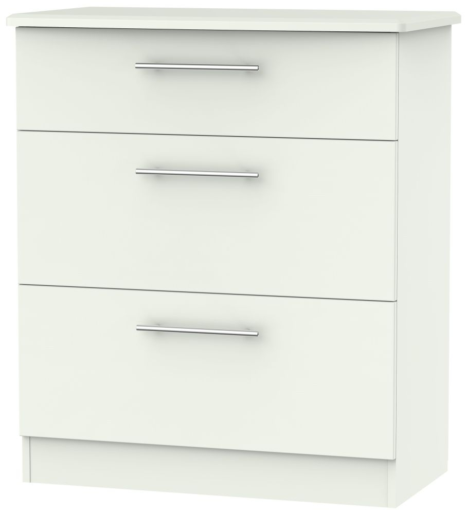 Sherwood Porcelain Matt 3 Drawer Deep Chest