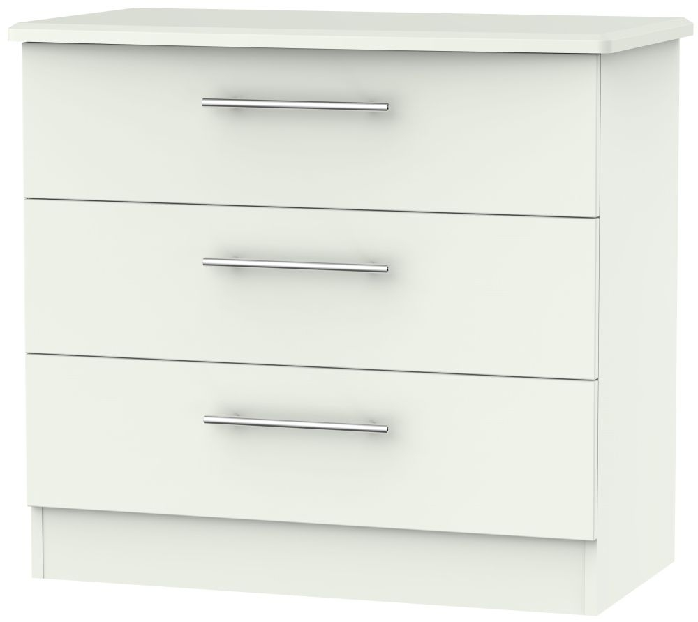 Sherwood Porcelain Matt 3 Drawer Chest