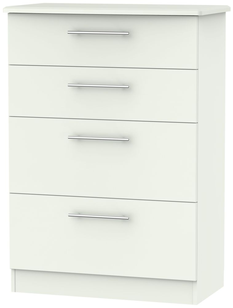 Sherwood Porcelain Matt 4 Drawer Deep Chest