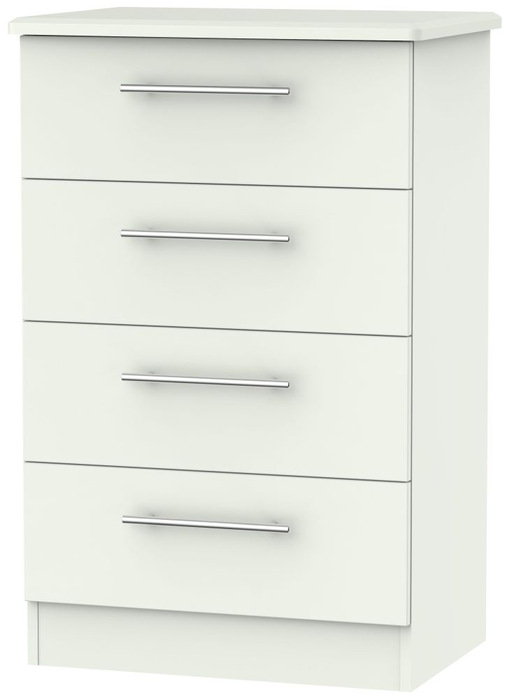 Sherwood Porcelain Matt 4 Drawer Midi Chest