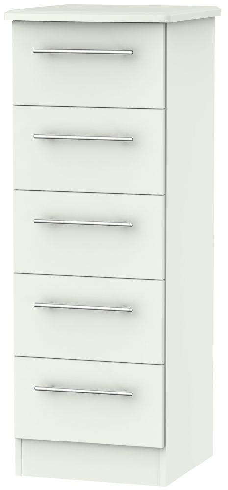Sherwood Porcelain Matt 5 Drawer Locker Chest