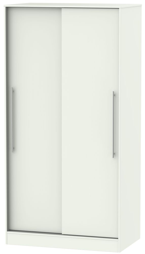 Sherwood Porcelain Matt 2 Door Sliding Wardrobe