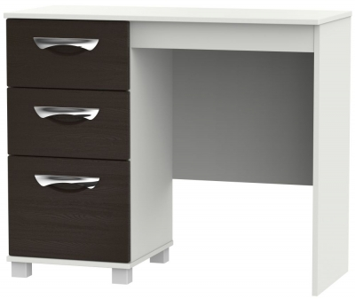 Somerset Graphite Klein Single Pedestal Dressing Table