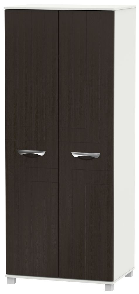 Somerset Graphite Klein 2 Door Wardrobe