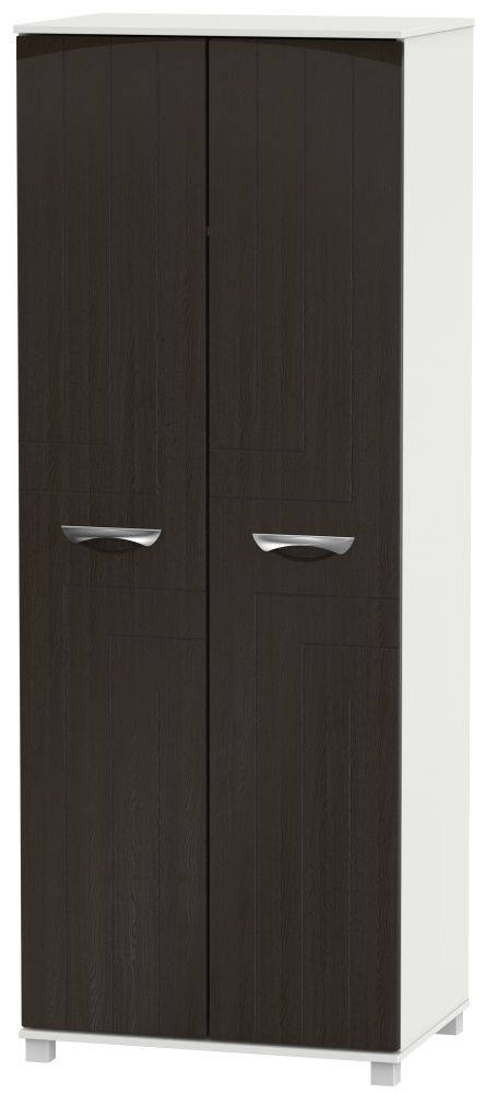 Somerset Graphite Klein Wardrobe - Tall 2ft 6in Plain