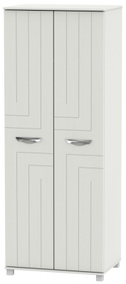 Somerset Light Grey Klein 2 Door Tall Wardrobe