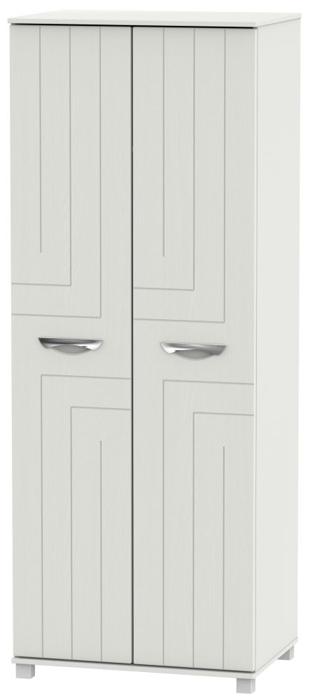 Somerset Light Grey Klein Wardrobe - Tall 2ft 6in Plain