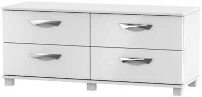 Somerset White Klein Bed Box