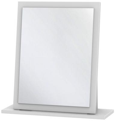 Somerset White Klein Small Mirror