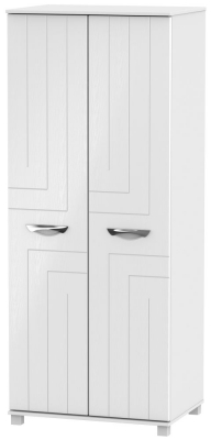 Somerset White Klein 2 Door Wardrobe