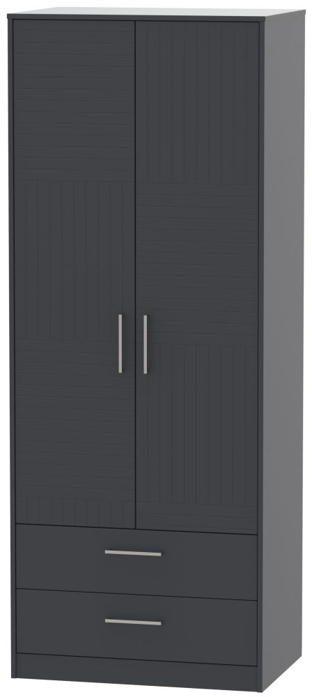 Tokyo Bay Wardrobe - Tall 2ft 6in with 2 Drawer