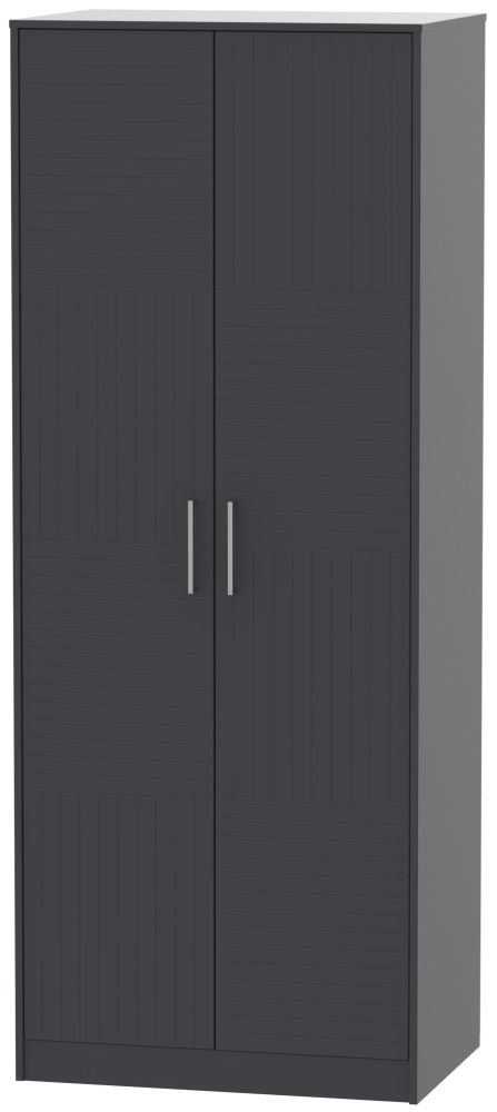 Tokyo Bay Wardrobe - Tall 2ft 6in with Double Hanging