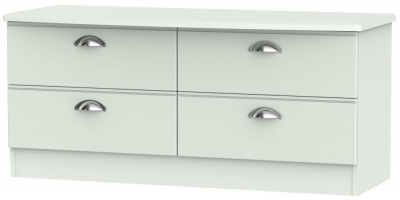 Victoria Grey Matt Bed Box