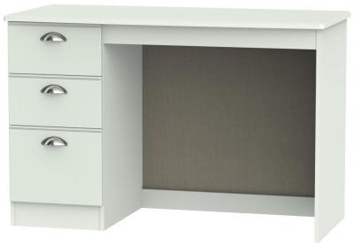 Victoria Grey Matt Desk