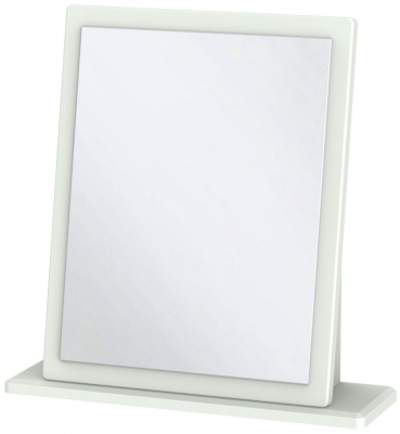 Victoria Grey Matt Mirror - Small