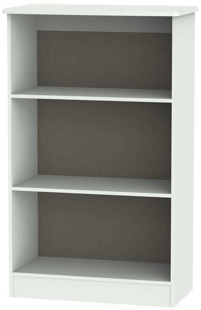 Victoria Grey Matt Bookcase