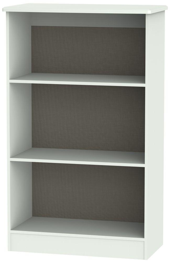 Victoria Grey Matt Bookcase