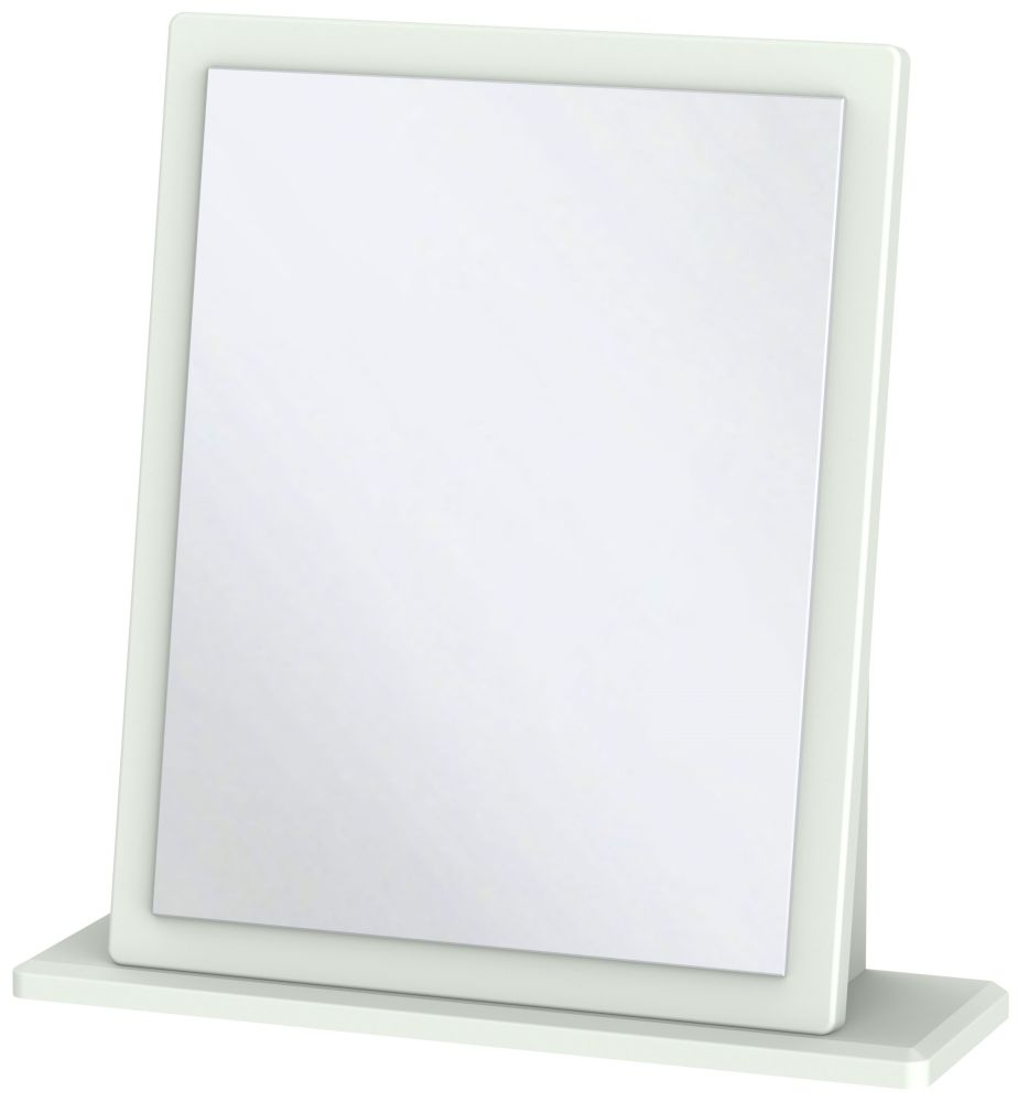 Victoria Grey Matt Mirror - Small