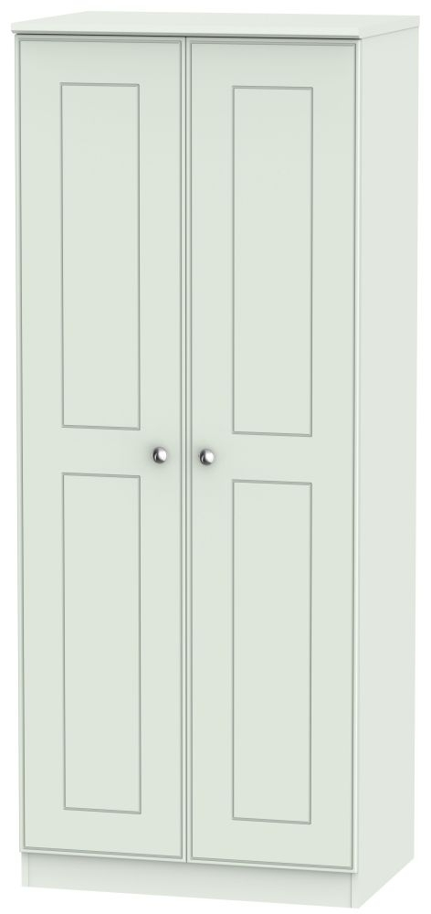 Victoria Grey Matt 2 Door Wardrobe