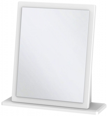 Victoria White Ash Small Mirror