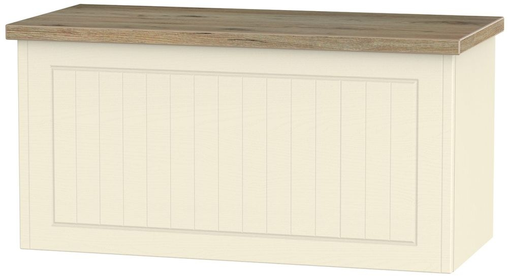Vienna Cream Ash Blanket Box