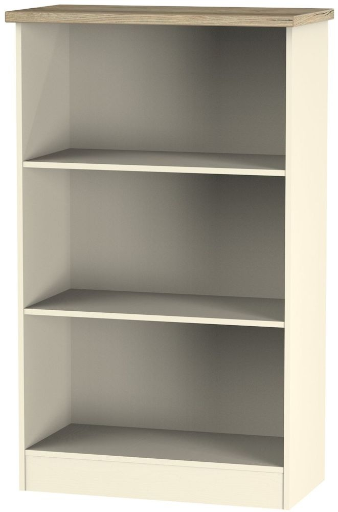 Vienna Cream Ash Bookcase