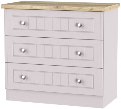 Vienna Kaschmir Ash Chest of Drawer - 3 Drawer