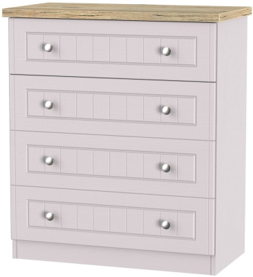 Vienna Kaschmir Ash Chest of Drawer - 4 Drawer