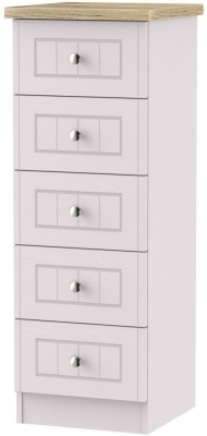Vienna Kaschmir Ash Chest of Drawer - 5 Drawer Locker