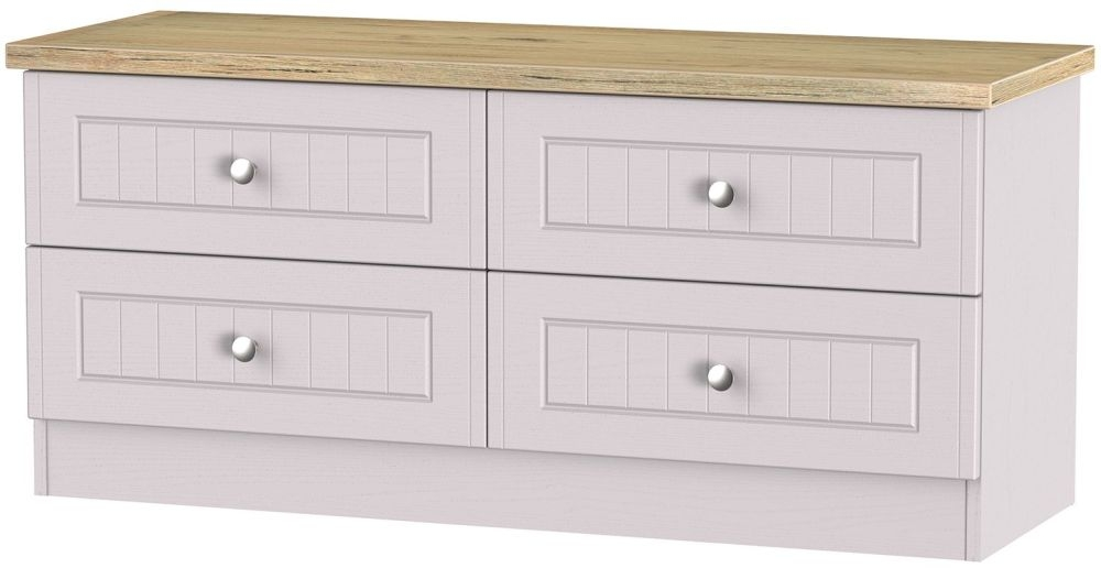 Vienna Kaschmir Ash Bed Box - 4 Drawer