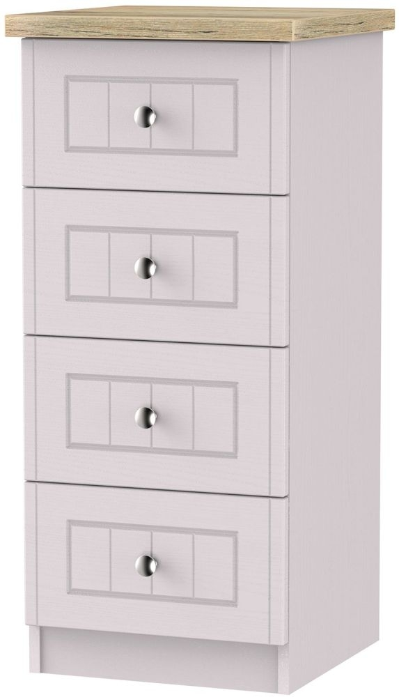 Vienna Kaschmir Ash Chest of Drawer - 4 Drawer Locker