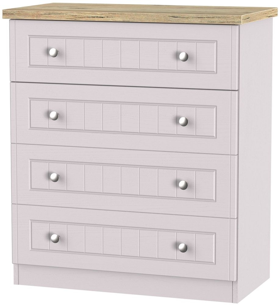 Vienna Kaschmir Ash 4 Drawer Chest