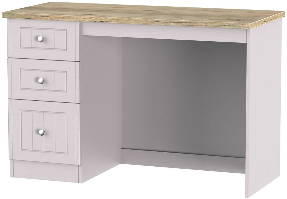 Vienna Kaschmir Ash Desk - 3 Drawer