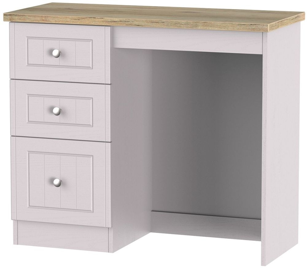 Vienna Kaschmir Ash Dressing Table - 3 Drawer Vanity