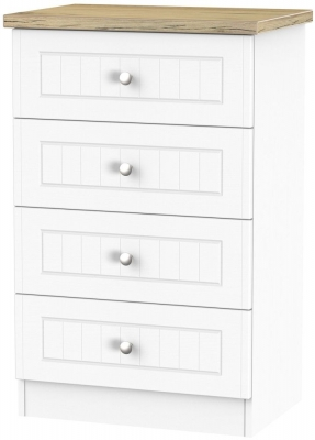 Vienna Porcelain Chest of Drawer - 4 Drawer Midi