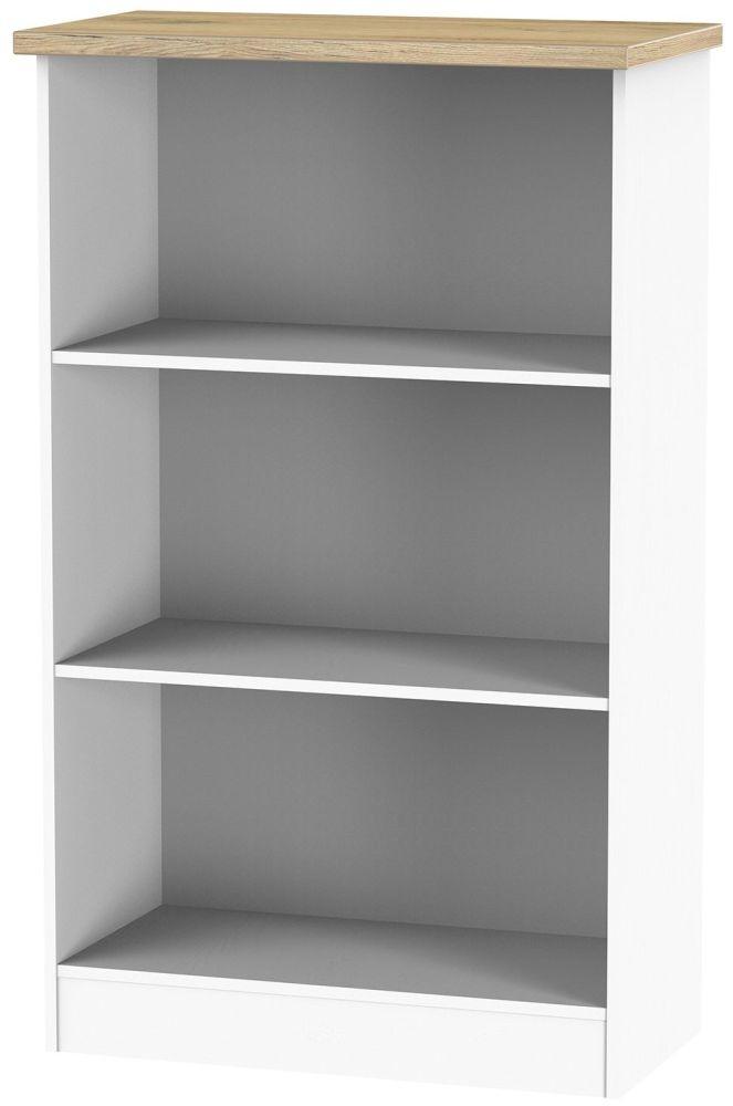 Vienna Porcelain Bookcase - 2 Shelves