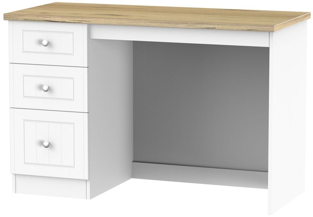 Vienna Porcelain Desk - 3 Drawer