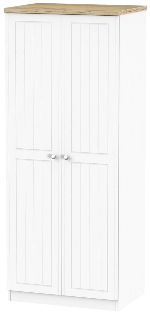 Vienna Porcelain 2 Door Wardrobe
