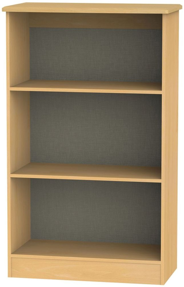 Warwick Beech Bookcase - 2 Shelves