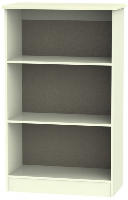 Warwick Cream Bookcase - 2 Shelves