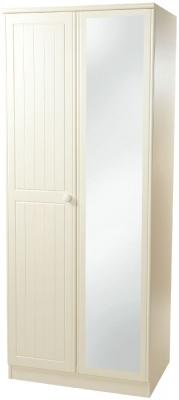 Warwick Cream Wardrobe - Tall 2ft6in Mirror