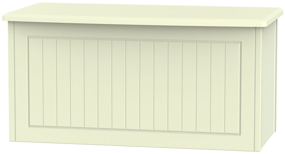 Warwick Cream Blanket Box